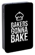 Bakers Gonna Bake Light Cupcake Baking Portable Battery Charger