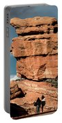Balanced Rock At Garden Of The Gods Portable Battery Charger