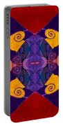Balancing Affections Abstract Bliss Art By Omashte Portable Battery Charger