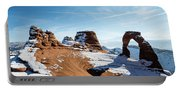 Delicate Arch Wide Portable Battery Charger