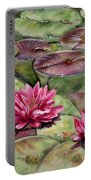 Balboa Water Lilies Portable Battery Charger
