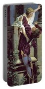 Balcony Scene, Romeo And Juliet Portable Battery Charger