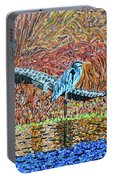Bald Head Island, Gator, Blue Heron Portable Battery Charger