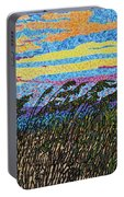 Bald Head Island, Sea Oat Sunset Portable Battery Charger