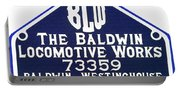 Baldwin Diesel Builders Plate Portable Battery Charger