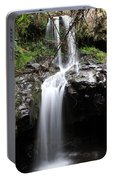 Bale Mountain Waterfall, Ethiopia Portable Battery Charger