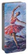 Ballet Dancer Portable Battery Charger