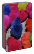 Bali Coloured Chicks Close-up Portable Battery Charger