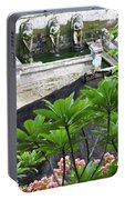 Bali Lady Fountain Portable Battery Charger