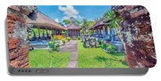 Bali Temple 2123 Portable Battery Charger