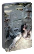 Balinese Monkey Family Portable Battery Charger