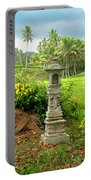 Balinese Rice Field Shrines Portable Battery Charger
