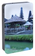 Balinese Temple By The Water Portable Battery Charger