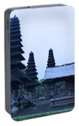 Balinese Temple On Side Portable Battery Charger