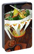 Balinese Traditional Dinner Basket Portable Battery Charger