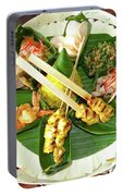 Balinese Traditional Satay Dinner Portable Battery Charger