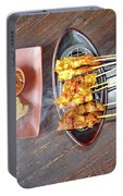 Balinese Traditional Satay Portable Battery Charger