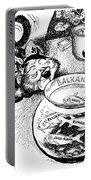 Balkan Cartoon, 1939 Portable Battery Charger