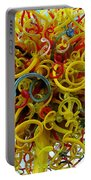 Ball Of Chihuly Glass Portable Battery Charger