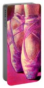 Ballet Shoes  II Portable Battery Charger