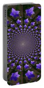 Balloon Flower Kaleidoscope Portable Battery Charger