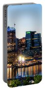 Baltimore Inner Harbor Reflections Portable Battery Charger