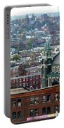 Baltimore Rooftops Portable Battery Charger by Carol Groenen