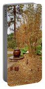 Bamboo At The Botanical Gardens Portable Battery Charger