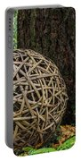 Bamboo Ball Portable Battery Charger