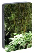 F8 Bamboo Portable Battery Charger