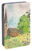 Bamford Church And Serenity Of Nature Portable Battery Charger