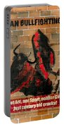 Ban Bullfighting Portable Battery Charger