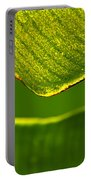 Banana Leaf Lines Portable Battery Charger