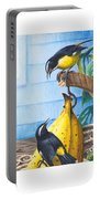 Bananaquits And Bananas Portable Battery Charger