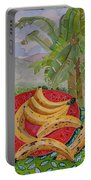 Bananas On A Plate Portable Battery Charger