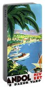 Bandol, French Riviera, Boats On Port Portable Battery Charger