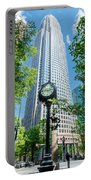 Bank Of America Corporate Center In Charlotte, Nc Portable Battery Charger
