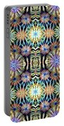 Banksia Pattern Portable Battery Charger