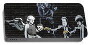 Banksy - Failure To Communicate Portable Battery Charger