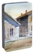 Bannack Ghost Town Montana Portable Battery Charger