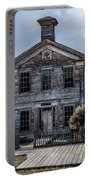 Bannack School House Portable Battery Charger