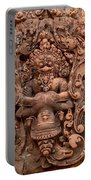 Banteay Srei Bas Relief Carvings - Cambodia Portable Battery Charger