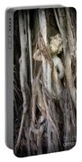 Banyan Grows Over Statue Portable Battery Charger
