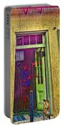 Bar Scene French Quarter New Orleans Portable Battery Charger