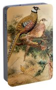 Bar-tailed Pheasant Portable Battery Charger
