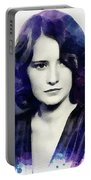 Barbara Stanwyck, Vintage Actress Portable Battery Charger
