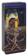 Barbarian And Skeleton Wizard Portable Battery Charger