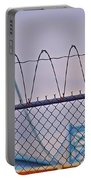 Barbed Wire Bridge Portable Battery Charger