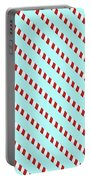 Barber Shop Wallpaper Portable Battery Charger