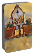 Barb's Bird House Portable Battery Charger
